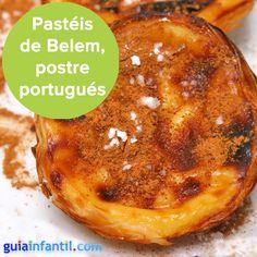Pastéis de Belem, una receta portuguesa muy conocida. http://www.guiainfantil.com/recetas/postres-y-dulces/tartas-y-pasteles/pasteles-de-belem-receta-de-postre-portugues-para-ninos/