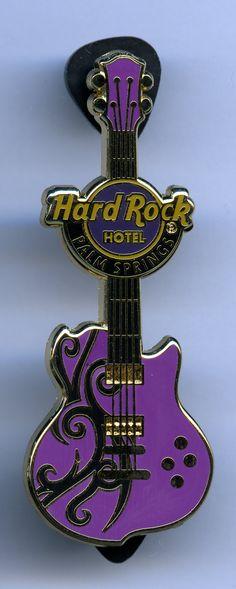 Palm Springs - Hard Rock Cafe Guitar Pin
