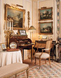 New home office traditional english country Ideas English Interior, French Interior, Classic Interior, French Decor, French Country Decorating, Beautiful Interiors, Beautiful Homes, Beautiful Life, English Country Decor