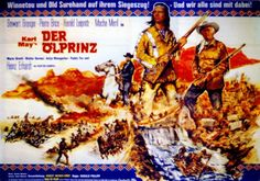 Deutsches Filmplakat. Querformat.