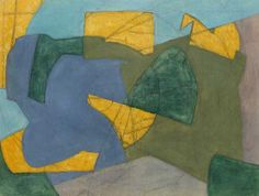 Composition abstraite - Serge POLIAKOFF - Paintings