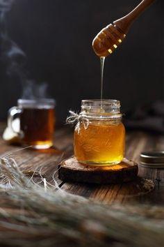 Honey by Maria Altynbaeva, Food Photographer Natural Honey, Raw Honey, Pure Honey, Lemon Juice Benefits, Honey Benefits, Honey Pictures, Food Photography Tips, Honey Recipes, Food Styling