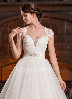 Vestidos de novia con corte de corazon