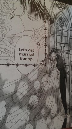 Sailor moon wedding, ending