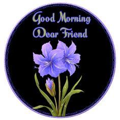 good morning animated glitter graphics | http://www.glitters123.com/good-morning/good-morning-dear-friend/