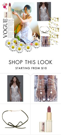 """""""Lace love"""" by koogallove ❤ liked on Polyvore featuring L'Oréal Paris and Clinique"""