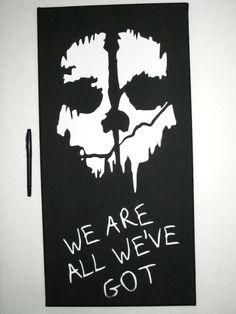 Call of Duty Ghosts Inspired Art