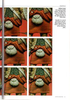 Malowanie figurek czyli recenzja poradnika Painting Miniatures | www.Figus.pl - figurki do sklejania
