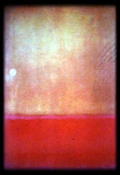 Mark Rothko // to escape into color