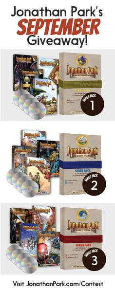 https://wn.nr/Z6YbzN  Help me win the entire Jonathan Park Audio Adventure collection for my kids from JonathanPark.com!