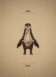 Is it a Penguin?  Leo Burnett Paris for JEEP