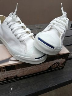 f8df84e592bd51 Details about Vtg Original Converse Jack Purcell Made in USA canvas shoes  sz 9