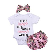 Newborn baby girl clothes carters baby girl clothing sets 2019 summer floral baby girl romper with lace skirt bebes headbands Carters Baby Girl, Baby Girl Romper, Daddys Girl, Baby Girl Newborn, Baby Girls, Infant Girls, Girls 4, Infant Toddler, Baby Bodysuit