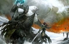 concept art from Guild Wars 2