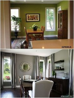 dining room makeover, dining room ideas, home decor, home improvement, painted furniture