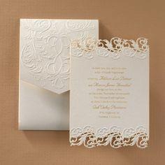 Shimmering Elegance - Invitation | Cadeaux Nic-Nac