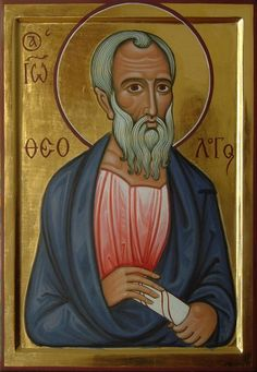 Commission contemporary christian Icon of saint John the Theologian