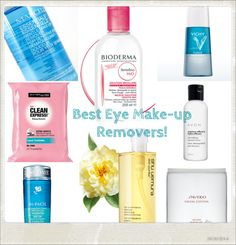 It's All in the Eyes: BEST Eye Make-up Removers as chosen by Canada's Top #Beauty Bloggers!