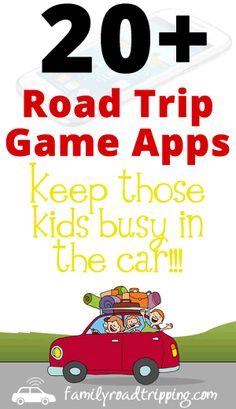 20 Road Trip Game Apps - These may be useful for entertaining the kids for part of that long drive to Disney World!