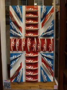 Cool Union Jack made by shoes