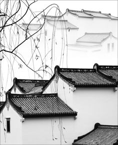 Ancient rhyme - Zhuhai, China -Yunsheng He Chinese Garden, New Chinese, Chinese Culture, Chinese Art, Chinese Style, Chinese Brush, Chinese Element, Chinese Design, Art Japonais