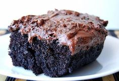 'Just saved Black Magic Cake (Best Chocolate Cake Ever!) in my Recipe Box! 'Just saved Black Magic Cake (Best Chocolate Cake Ever!) in my Recipe Box! Yummy Recipes, Sweet Recipes, Baking Recipes, Dessert Recipes, Recipies, Recipes Dinner, Dessert Food, Food Cakes, Cupcake Cakes