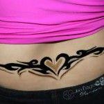 Tribal Lower Back Tattoos
