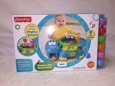 Fisher Price Poppity Pop Musical Dino - Fun Developmental Toy  New Sealed  W1392 #FisherPrice