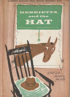 Henrietta and the Hat by Mabel Watts 1962 Jane Miller Vintage Picture Book Horse by BirdhouseBooks on Etsy Saint Anything, Fury Quotes, Love Can, My Love, Rose Queen, Laura Ingalls Wilder, Little Golden Books, Vintage Children's Books, Retelling