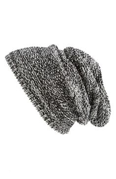 Free shipping and returns on Capelli of New York Textured Knit Beanie (Juniors) at Nordstrom.com. A slouchy beanie made from soft, chunky yarns makes an easygoing accessory for your casual style.