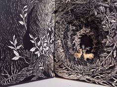 Isobelle Ouzman breathes new life into discarded books. She transforms the forgotten publications into intricate, sculptural illustrations.