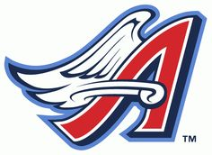 Anaheim Angels alternate logo 1997-2001