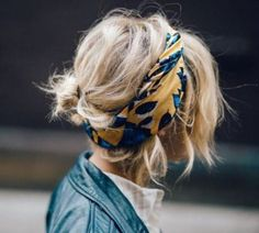 15 Chic Ideas On How You Can Use The Scarf As Your Hair Accessories