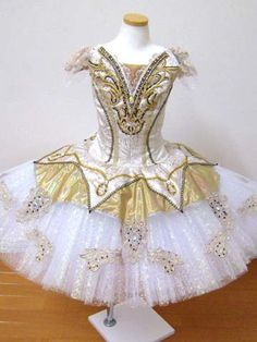 a russian/french ballet ballerina dress