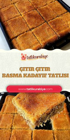 Turkish Recipes, Ethnic Recipes, Food Preparation, Cornbread, Banana Bread, Tart, Food And Drink, Menu, Desserts