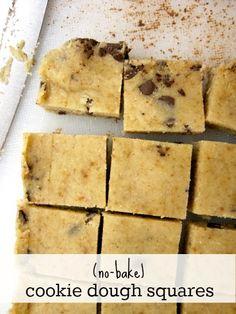 gluten-free cookie dough recipe