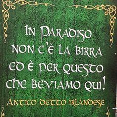 Saggezza irlandese! 😎☘🍻 #ireland #irlanda #irish #frasi #memories #quotes #quote #quotesgram #irishfestival #irlandese #green #verde #beer…