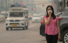 About 4 million children worldwide develop asthma each year because of inhaling nitrogen dioxide air pollution, according to a new study. The study, based on data from 2010 to estimates that 64 percent of these new cases of asthma occur in urban areas. Natural Asthma Remedies, Ayurvedic Remedies, Essential Oils For Asthma, Krill Oil, Asthma Symptoms, Air Pollution, Natural Treatments, Lunges, Children