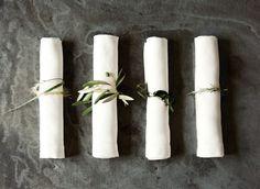 DIY Rustic Wedding Napkin Rings