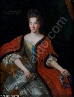 Dame Catherine Le Fèvre de La Faluère, Comtesse de Plélo et de Mauron.