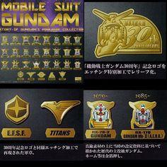 Mobile Suit Gundam Pin Badge 30th ANNIVERSARY Japan Anime Comic Manga Game 373