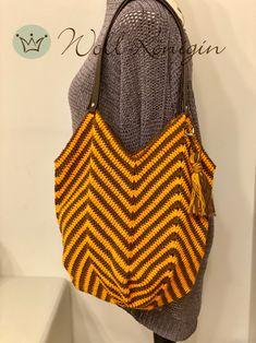 Diese wunderschöne häkeltasche ist ganz fix und einfach gemacht. Schaut mal vorbei Drawstring Backpack, Backpacks, Bags, Fashion, Nice Things, Simple, Tutorials, Nice Asses, Handbags