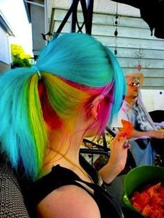 ooooh.  i'd feel like rainbow brite's horse starlight.  & i'd be okay with it.