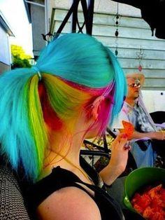 ooooh.  i'd feel like rainbow brite's horse starlight.  & i'd be okay with it.