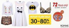 Huuuuuuuuuuuuuuuuuge Sale, up to 80% off & Extra Gift