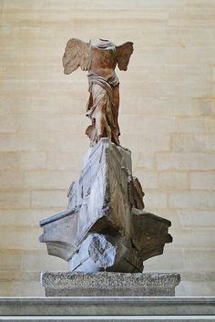 Winged Victory of Samothrace. Truly inspirational: http://arttattler.com/archivelouvresequestration.html