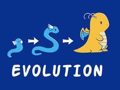 Sometimes the evolution struggle is real.