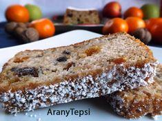 A gyümölcskenyér egy igazi ünnepi sütemény. Most almával, sok finom aszalt gyümölccsel és durvára vágott dióval gazdagítottam. Természetesen...