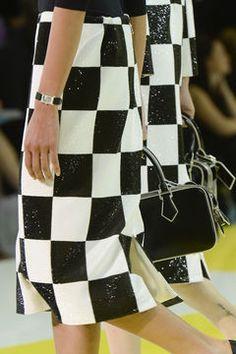 Modetrend Frühjahr/Sommer 2013: Schachbrettkaro im 60s-Stil