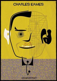 Archiportrait Chales Eames